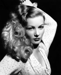 Veronica Lake. How often did she shampoo her hair? The world may never know.